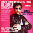 La Cigale - Paris - DANTEC
