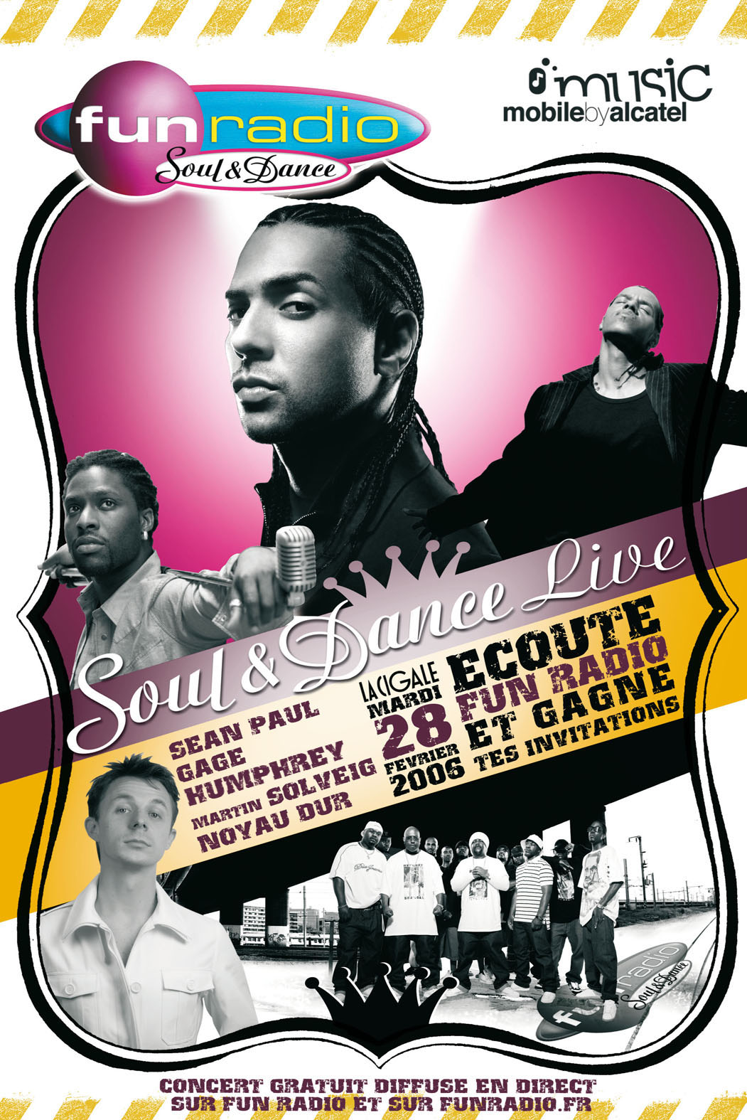 SOUL & DANCE LIVE avec Music Mobile by ALCATEL