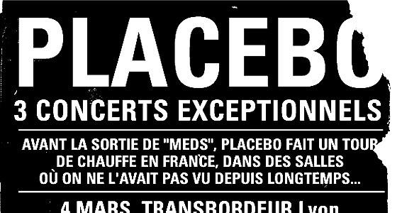 La Cigale - Paris - PLACEBO (1ère Partie GOMM)
