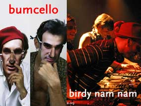 La Cigale - Paris - FACTORY : BUMCELLO - BIRDY NAM NAM