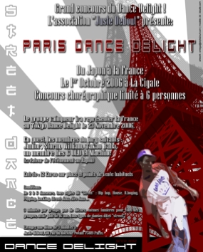 PARIS DANCE DELIGHT