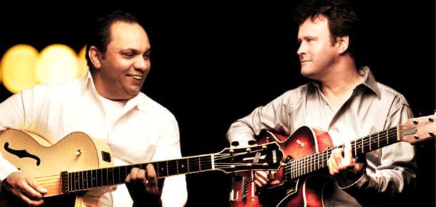 Sylvain Luc en Duo avec Biréli Lagrène + Sylvain Luc, André Ceccarelli et Thierry Eliez : Trio Organic