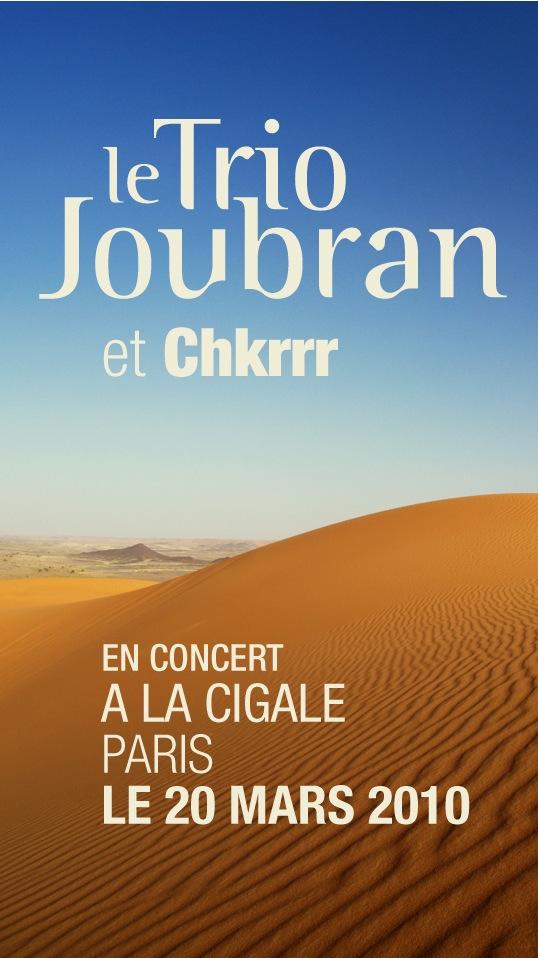 LE TRIO JOUBRAN et CHKRRR