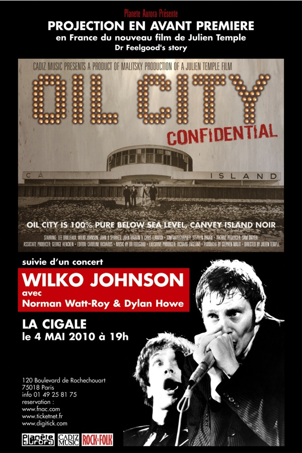 OIL CITY CONFIDENTIAL+ WILKO JOHNSON Trio