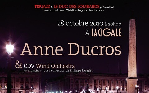 La Cigale - Paris - ANNE DUCROS