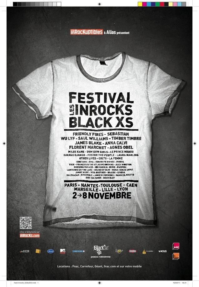 Festival Les Inrocks Black XS