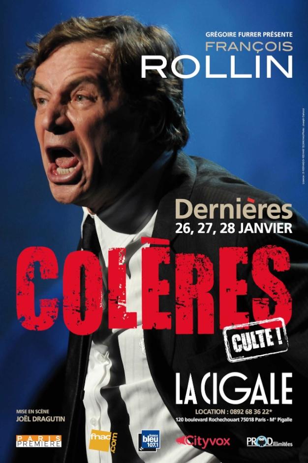 FRANCOIS ROLLIN «COLERES»