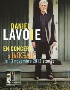 La Cigale - Paris - DANIEL LAVOIE