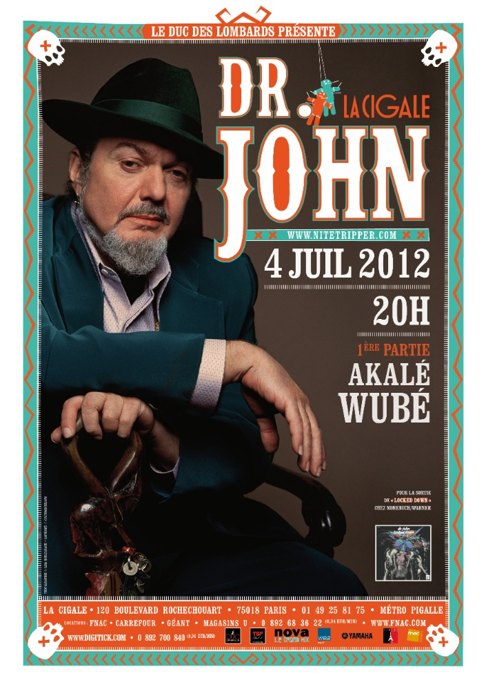 Dr. John and The Lower 911  featuring Jon Cleary