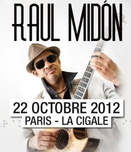 La Cigale - Paris - RAUL MIDON