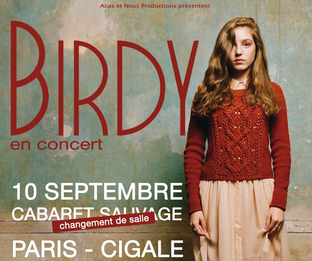 La Cigale - Paris - BIRDY