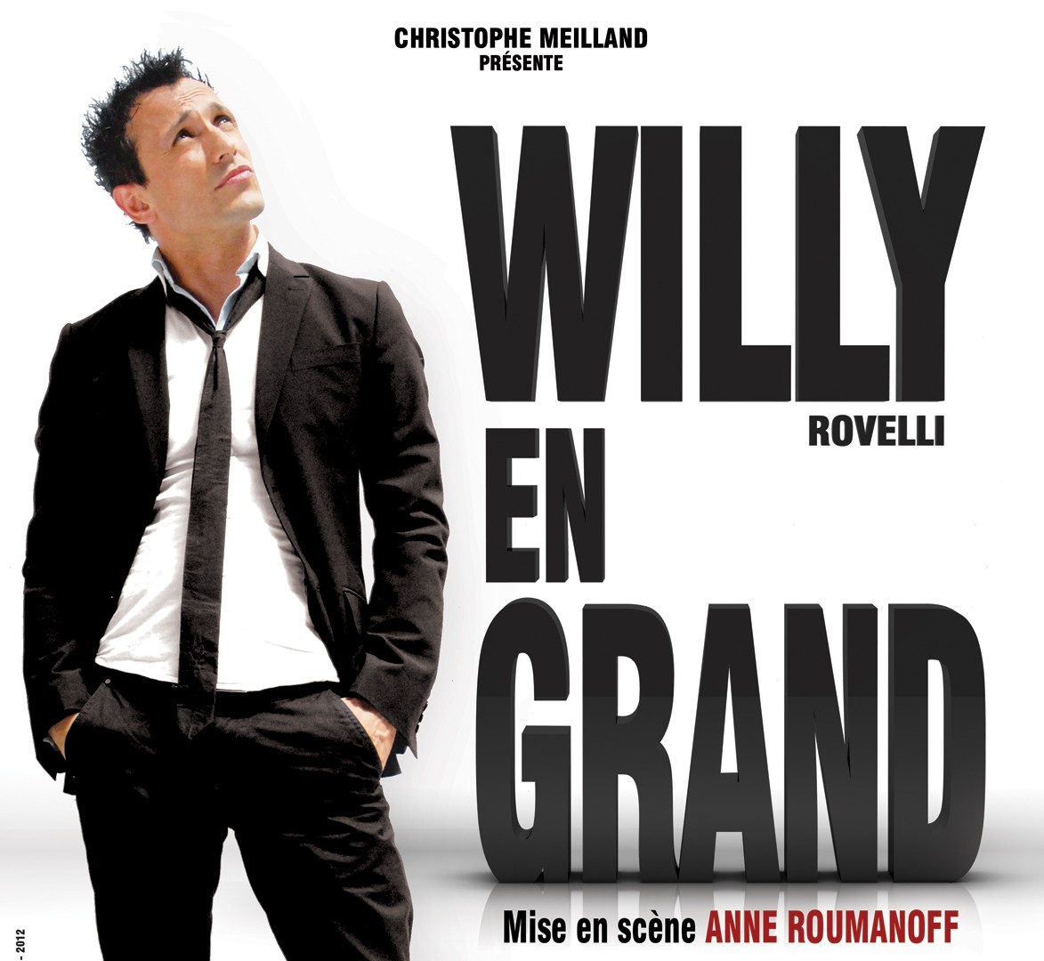La Cigale - Paris - WILLY EN GRAND A LA CIGALE