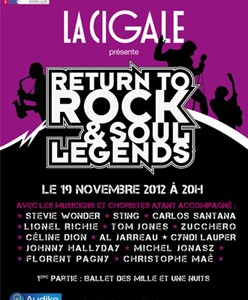 La Cigale - Paris - RETURN TO ROCK & SOUL LEGENDS