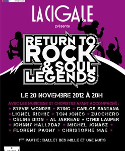 La Cigale - Paris - RETURN TO ROCK & SOUL LEGENDS #2