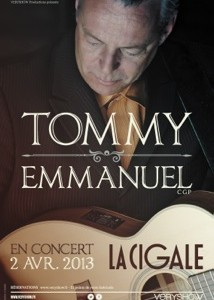 La Cigale - Paris - TOMMY EMMANUEL