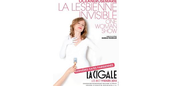 La Cigale - Paris - LA LESBIENNE INVISIBLE (DERNIERE DATE PARISIENNE)