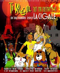 La Cigale - Paris - TI KREOL