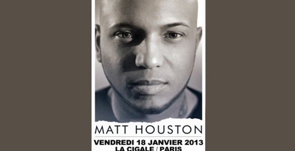 La Cigale - Paris - MATT HOUSTON