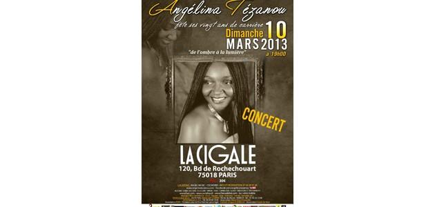La Cigale - Paris - ANGELINA TEZANOU