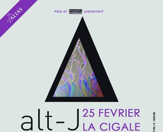 La Cigale - Paris - ALT-J