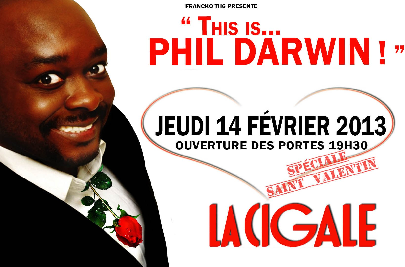 La Cigale - Paris - PHIL DARWIN