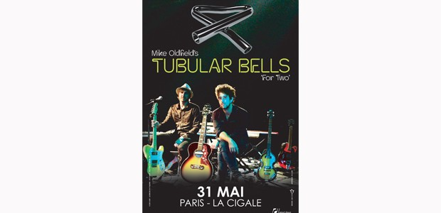 La Cigale - Paris - TUBULAR BELLS FOR TWO