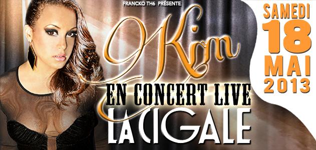 La Cigale - Paris - KIM