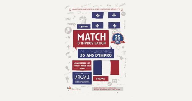 MATCH D'IMPRO FRANCE/QUEBEC