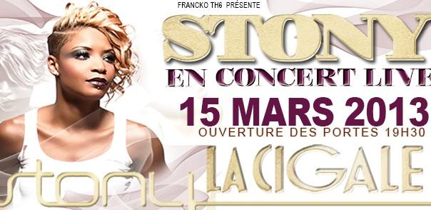 La Cigale - Paris - STONY