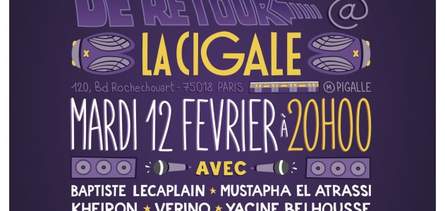 La Cigale - Paris - Human Comedy Club