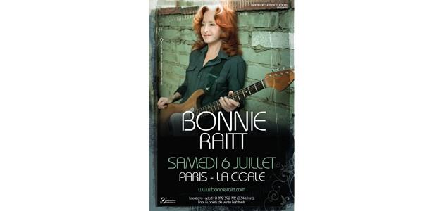 La Cigale - Paris - BONNIE RAITT