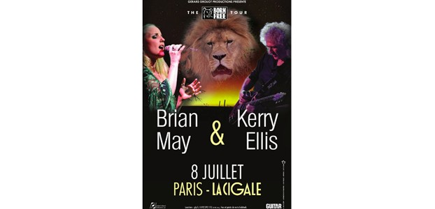 La Cigale - Paris - BRIAN MAY & KERRY ELLIS