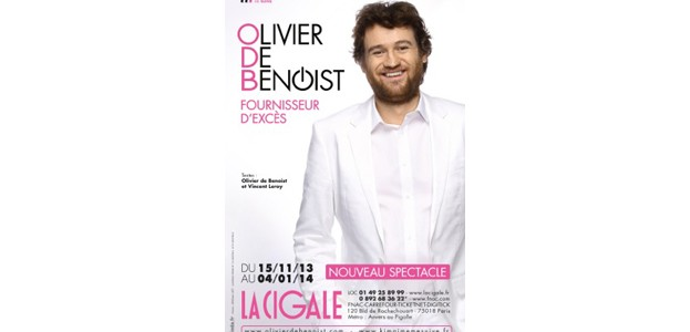 La Cigale - Paris - OLIVIER DE BENOIST