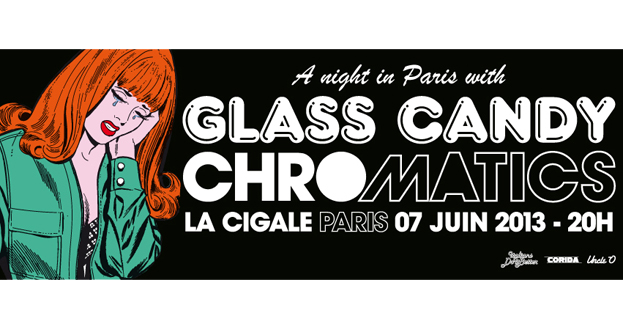 CHROMATICS + GLASS CANDY