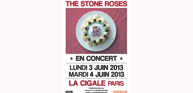 La Cigale - Paris - THE STONE ROSES