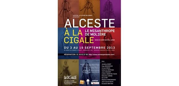 La Cigale - Paris - LE MISANTHROPE de Molière
