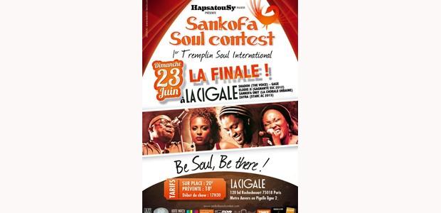La Cigale - Paris - FINALE DU SANKOFA SOUL CONTEST 2013