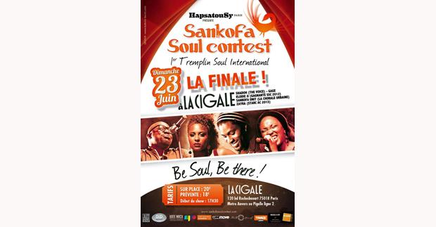 FINALE DU SANKOFA SOUL CONTEST 2013