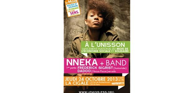 La Cigale - Paris - NNEKA & DADOO (HOCUS POCUS)