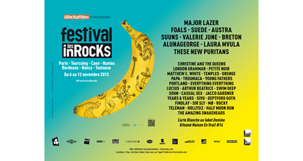 FESTIVAL LES INROCKS 2013