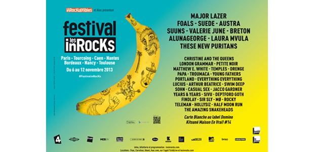 La Cigale - Paris - FESTIVAL LES INROCKS 2013