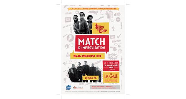 MATCH D'IMPRO HERO CORP/LA MAJEURE