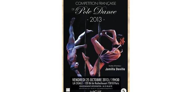 La Cigale - Paris - COMPÉTITION FRANÇAISE DE POLE DANCE 2013