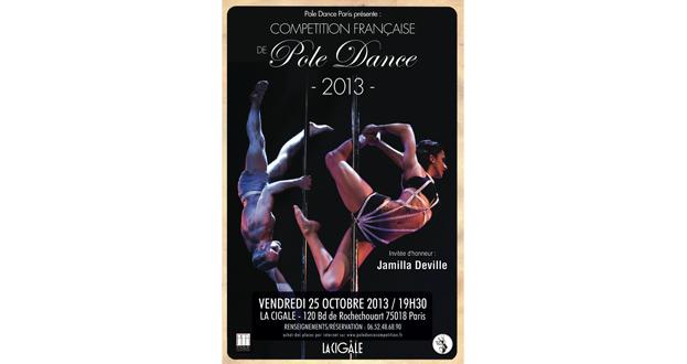 COMPÉTITION FRANÇAISE DE POLE DANCE 2013
