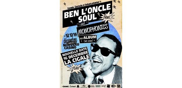 La Cigale - Paris - BEN L'ONCLE SOUL & MONOPHONICS