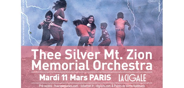 La Cigale - Paris - THEE SILVER MT ZION MEMORIAL