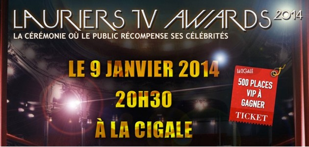 La Cigale - Paris - Lauriers TV Awards
