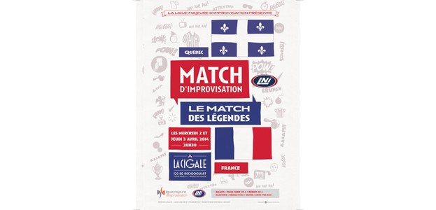 La Cigale - Paris - MATCH D'IMPRO