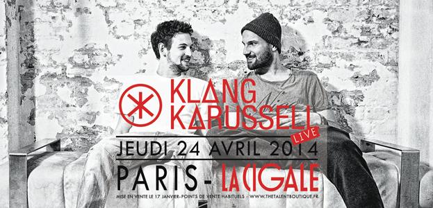 La Cigale - Paris - KLANGKARUSSEL