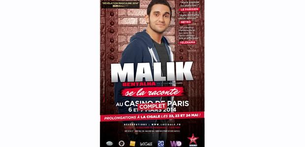 La Cigale - Paris - Malik BENTALHA
